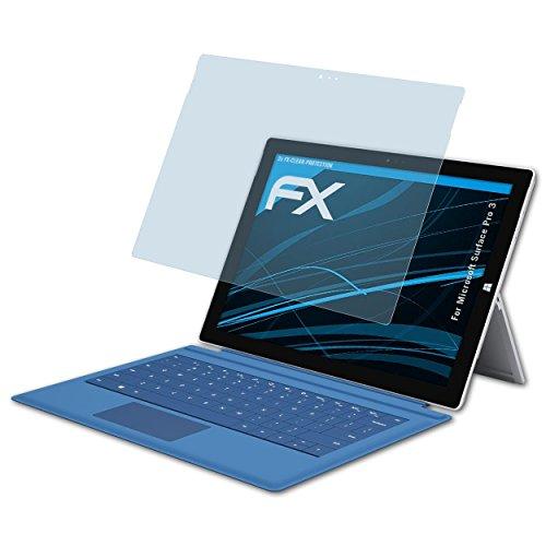atFolix Schutzfolie kompatibel mit Microsoft Surface Pro 3 Folie, ultraklare FX Bildschirmschutzfolie (2X)
