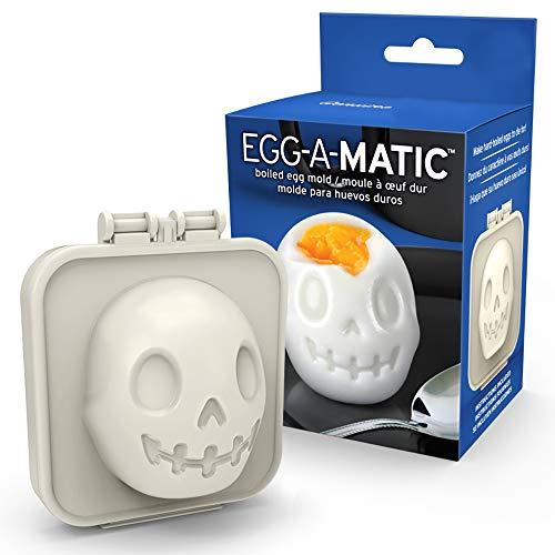 orm ''Schädel''   Eierformer für gekochte Eier   Egg-A-Matic   Ei-Förmchen   Eiform   Küchenhelfer   Eierausstecher   Schädelform ()