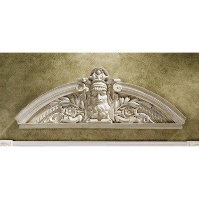 Design Toscano Prometheus, der Rebellische Titan, Skulpturales Wandpediment