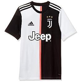 adidas – Juventus Home Jersey Youth, Maglietta da Calcio A Maniche Corte Bambino