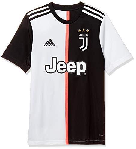 adidas 19/20 Juventus Home Jersey Youth Jerseys Kinder L Schwarz/Weiß