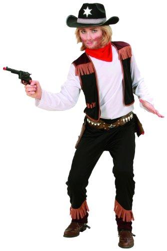 Imagen de widmann 02597  disfraz de vaquero para niño 8 años  talla 140  alternativa