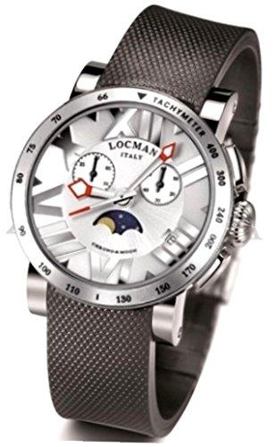 Wristwatch LOCMAN Mod. CHRONO MOON - DATE - LADY - 38MM SILVER DIAL 0294TAWHNNKCGOK