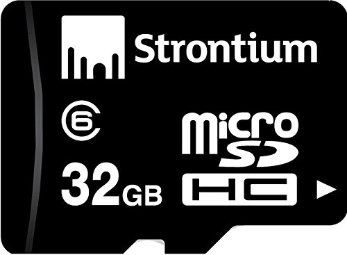 Strontium SR32GTFC10R 32GB Micro SDHC Class-6 Memory Card