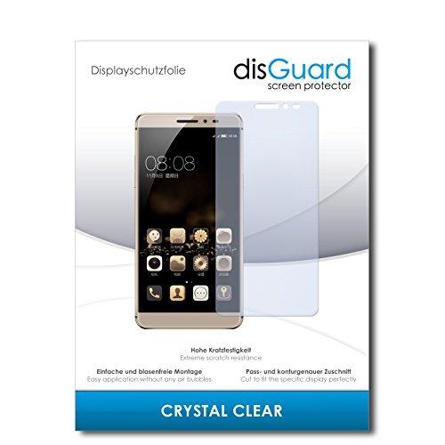 disGuard® Bildschirmschutzfolie [Crystal Clear] kompatibel mit Coolpad Max [2 Stück] Kristallklar, Transparent, Unsichtbar, Extrem Kratzfest, Anti-Fingerabdruck - Panzerglas Folie, Schutzfolie