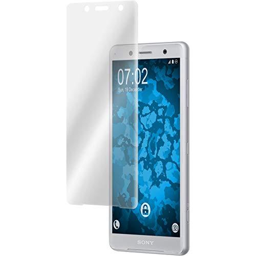 PhoneNatic 2er-Pack Bildschirmschutzfolien klar Flexible Folien kompatibel mit Sony Xperia XZ2 Compact