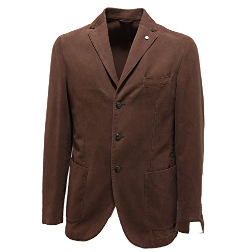 3125M giacca uomo L.B.M. 1911 tailored puro cotone giacche jackets coats men [48 R]