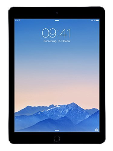 Apple iPad Air 2 32GB Wi-Fi - Space Grey (Refurbished) - 32gb Space Gray Ipad Air