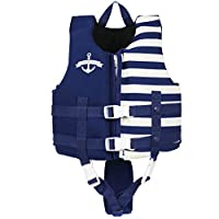 Gogokids Toddler Swim Vest/Jacket Float Vest Swimming Aids for Kids Boys Girls Begin-to-Swim, 2-8 Years, 10-30 kg
