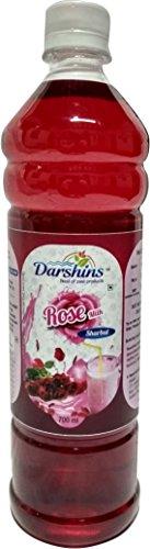 Darshins Rose Sharbat 700ml