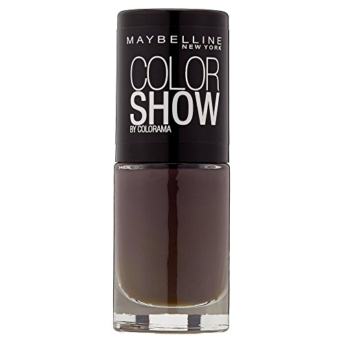 Maybelline New York Make-Up Color Show Nagellack Midnight Taupe, 7 ml