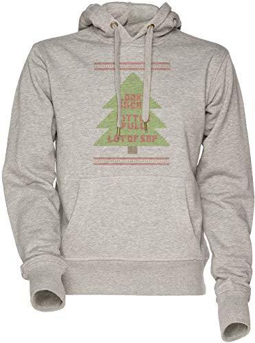 Vendax Weihnachten Urlaub Hässlich Sweatshirt Unisex Kapuzenpullover Grau
