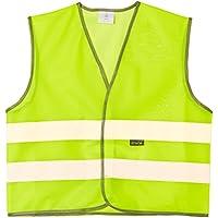 Wowow Mesh Gilet - Chaleco de ciclismo para niña, color amarillo, talla L