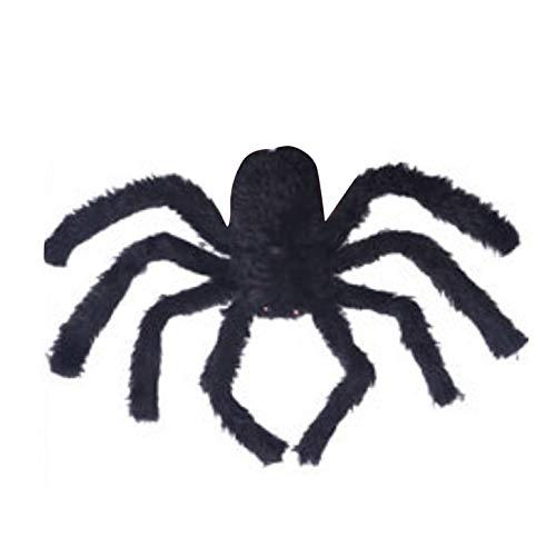 Einfache Beängstigend Kostüm - ArgoBear Halloween Requisiten Gefälschte Spinne für Spukhaus Bars Dekorative Versorgung Simulation Scary Plüsch Spinnen Heikles Spielzeug