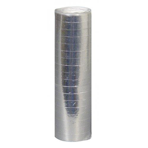 Luftschlangen Silber Metallic