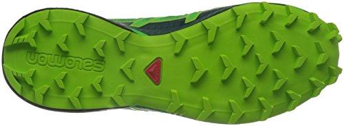 Salomon Herren Speedcross 4 Gtx Traillaufschuhe grün / schwarz