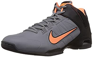 Nike Men's Air Visi Pro IV Cool Grey,Atomic Orange,Black  Basketball Shoes -7 UK/India (41 EU)(8 US)