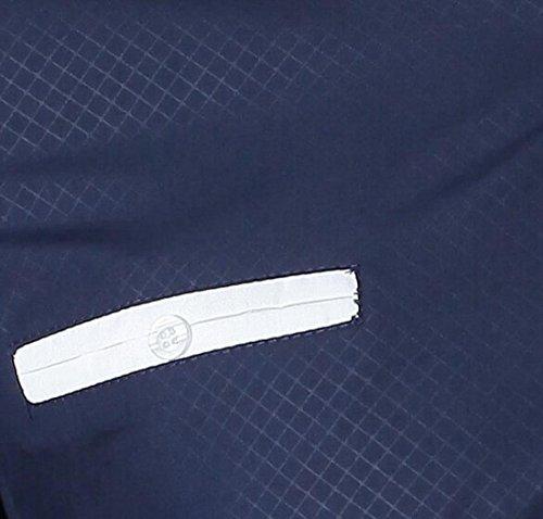 jeansian Herren Freizeit Hemden Shirt Tops Mode Langarmshirts Slim Fit Men Shirt Z025 Navy