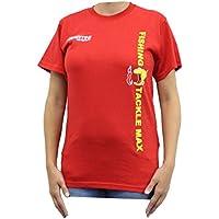 –Camiseta rojo talla XL de Fishing Tackle Max FTM