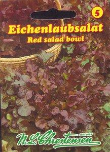 Eichenlaubsalat Red salad bowl (Portion) Red Salad Bowl