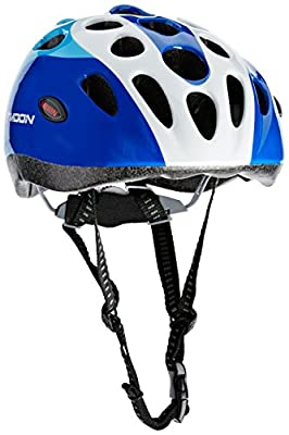 Moon HB5-3 Boys' Kids Helmet - Blue, Small (48-52 cm) from Moon