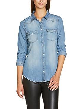 Vero Moda Moda - Blusa de manga larga para mujer