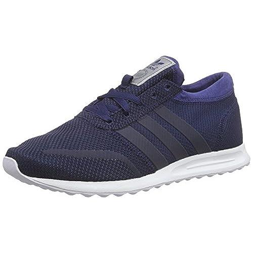 adidas Los Angeles, Homme Sneakers Basses, Collegiate Navy/Collegiate Navy/Dark Blue, 45 1/3 EU