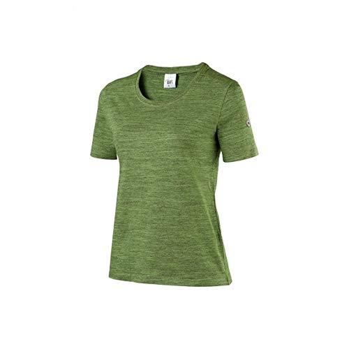 BP 1715-235-178 Essentials Damen T-Shirt, Baumwolle, Polyester und Elasthan, Neues Grün, Größe L