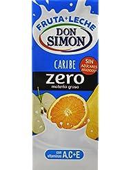 Don Simón Fruta + Leche Caribe zero materia grasa sin azucares añadidos, ...