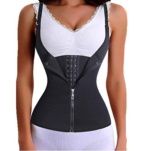 Femme Bodys Femmes Minceur Zipper Taille Formateur Cinta Modeladora Body  Shaper Ventre Taille Cincher Tank Correctif Shapewear Tops