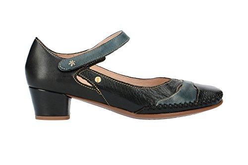 Pikolinos W6R-5836 Black, Scarpe Col Tacco Donna Nero