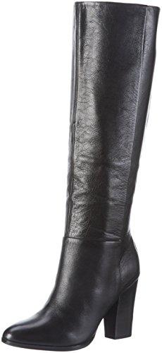 Aldo Mansi, Women's Long Boots, Black (Black Leather), 6 UK (39 EU)