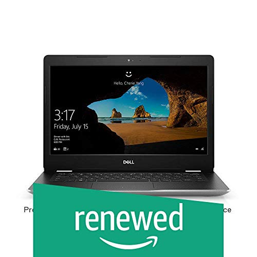 (Renewed) Dell Inspiron 3480 14-inch Thin & Light Laptop (8th Gen Intel Core i5-8265U/8GB/1TB HDD/Window 10 Home + MS Office/Intel UHD Graphics), Silver