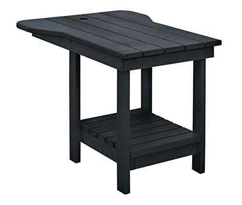 Adirondack Banc tête-à-tête Table Table d'appoint pour Muskoka Chaise C01 100% haute densité, différents coloris. noir