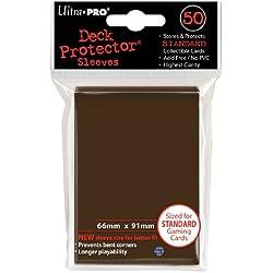 Ultra Pro 50 fundas de 66 x 91 marron