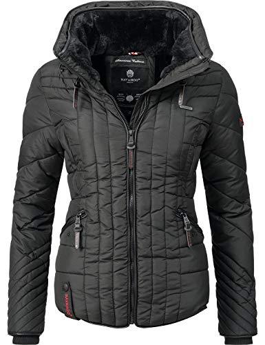 Navahoo Damen Winter Jacke Steppjacke Nimmersatt 6 Farben XS-XXL