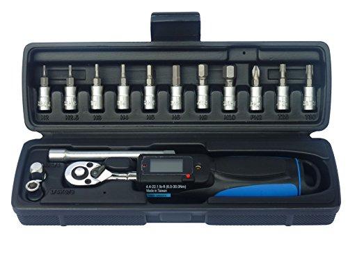 Tool Hub 9729 15 Stück 1/4'D' digitalen Drehmomentschlüssel Set