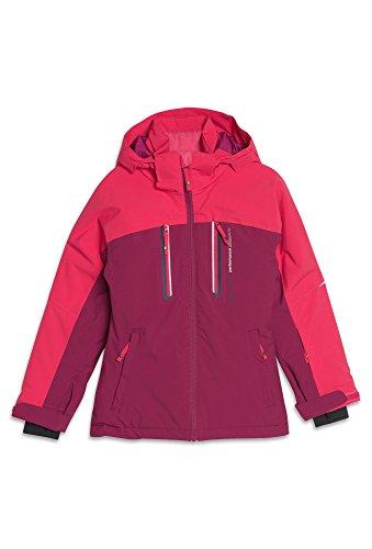 ROSSI Kinder Winterjacke - Ski, 10.000er Wassersäule Winter-Jacke Ski Outdoor Sport Mädchen Girls pink,170 Mädchen Ski-snowboard-jacke