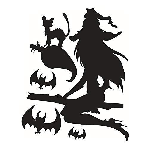PVC Hexen-Symbol Aufkleber für Halloween zu Hause (Halloween-hexen Symbole Von)