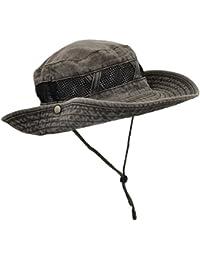 aea98cd3bce Amazon.co.uk  Grey - Bucket Hats   Hats   Caps  Clothing