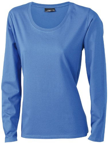 James & Nicholson Damen T-Shirt Langarmshirt XXX-Large royal (T-shirt Xxx-large Neue)