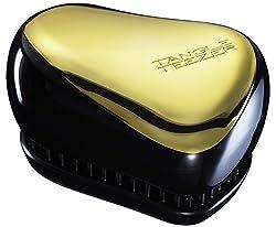 Tangle Teezer Compact Styler Detangling Brush, Gold/Black