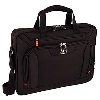 Wenger 600658 Index – Mochila con Compartimento Acolchado para portátiles (16″) Color Negro