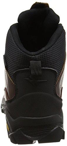 Gola Atlantika, Chaussures Bébé Marche Femme Marron - Brown (Dark Brown/Black)