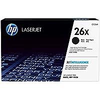 HP 26X - Cartucho de tóner original LaserJet de alta capacidad para M402 y MFP M426, color negro