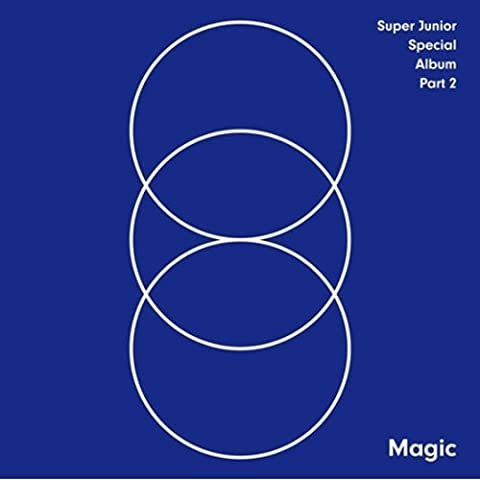 SUPER JUNIOR - [ MAGIC ] PART.2 Special Album CD packages Sealed K-POP SM