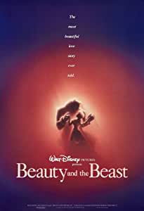 Beauty and the Beast ... Classic Animated Movie Poster A1 A2 A3 A4 Sizes (A2 Size [42 x 61 cms])