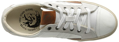 Diesel D-Velows D-String Low, Chaussures Homme Blanc