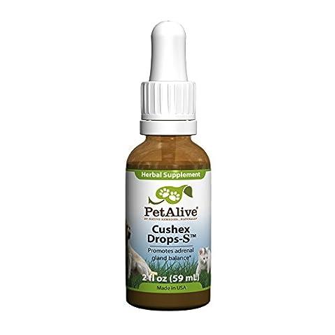 Native Remedies PCDR001 PetAlive CushexDrops for Cushings Disease, Adrenal Health - 50ml