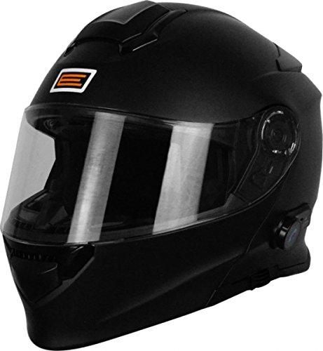 Origine Helmets 204271720100002Delta Solid Matt Casco desmontable con Bluetooth integrado, negro, XS